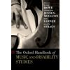 miniatura The Oxford handbook of music and disability studies